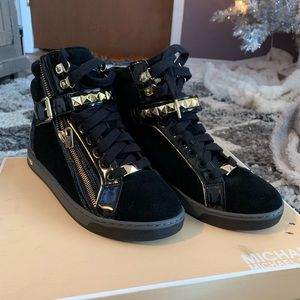 Michael Kors Urban Studded High Top Sneakers